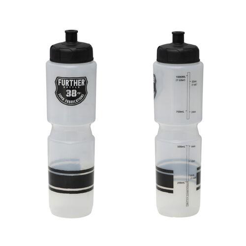 environ 1077.26 g bouteille d/'eau Clair//Noir Soma Further 38 Oz