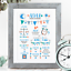 Personalised-Birth-Print-for-Baby-Boy-Girl-New-Baby-Gift-or-Christening-Present thumbnail 62