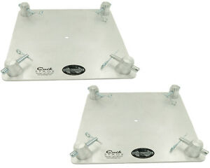 Pair-of-12-034-x-12-034-Aluminum-Truss-Base-or-Top-Plate-Fits-Global-Truss-F34-SQ