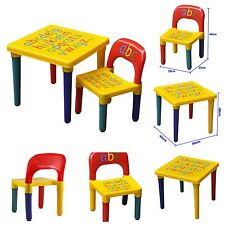 item 4 Kids Children Furniture Table and Chair Set Alphabet Design Bedroom Play Room -Kids Children Furniture Table and Chair Set Alphabet Design Bedroom ...  sc 1 st  eBay & Childrenu0027s Kids Pencil Design Table and Chairs Set Bedroom Playroom ...