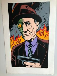 CHARLES-BURNS-WILLIAM-S-BURROUGHS-LIMITED-EDITION-NUMBERED-SIGNED-PRINT