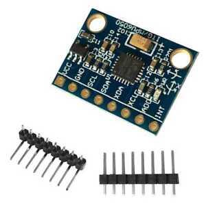 AgréAble Gy-521 Mpu 6050 Module 3 Axis Analog Gyro Sensors Accelerometer Module Arduino Marchandises De Haute Qualité