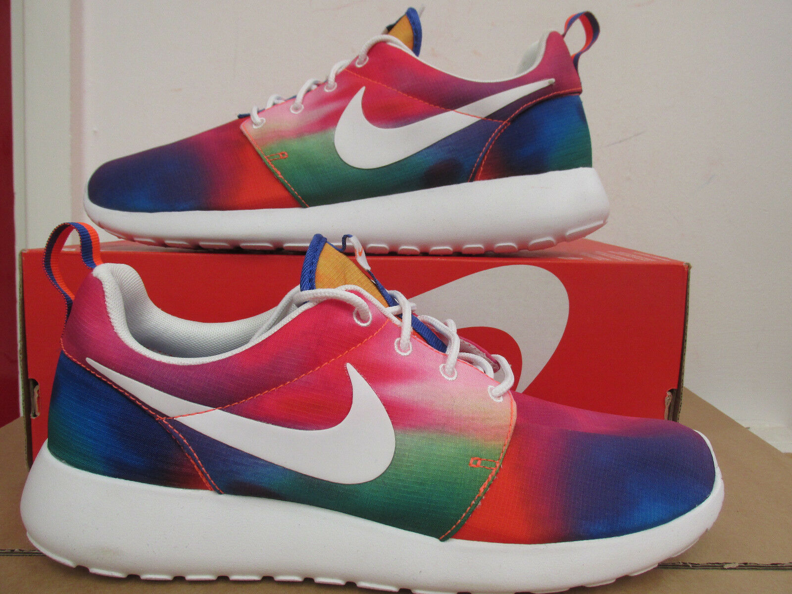 New shoes for men and women, limited time discount nike rosherun print mens running trainers 655206 518 sneaker shoes CLEARANCE