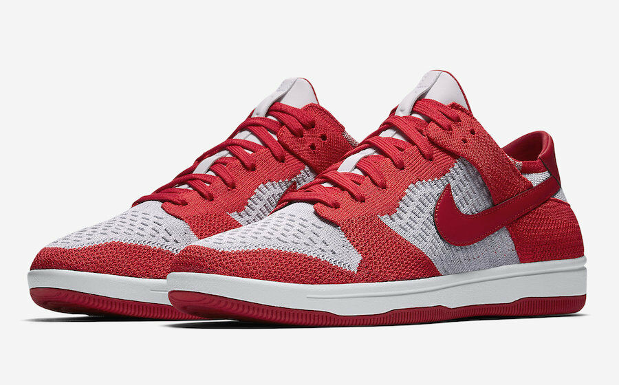 Mens Nike Dunk Flyknit 917746-600 University Red Brand New Size 9.5