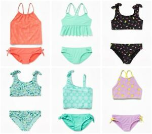 168f1d90cf570 Details about NWT Old Navy Girl s 2 Piece Swimsuit  Swim Wear Bikini    Tankini UPick
