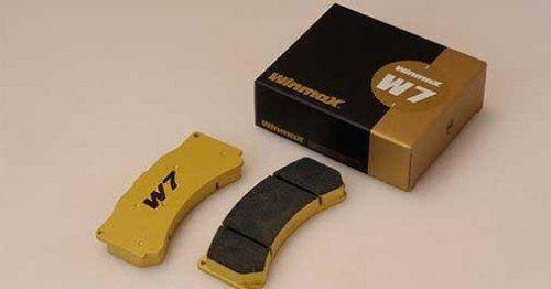 Winmax W7 Rear Brake Pad FAMILIA WAGON,9.00-10.03 BJ5W S-F,WEB TUNED(TYPE:10742)