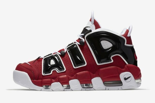 Size 10 - Nike Air More Uptempo Bulls