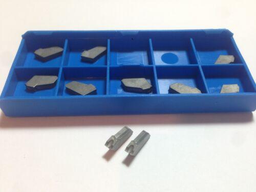 10 x ISCAR GFN 3U IC20 Cut Off Carbide Inserts SGFH 3mm Cnc Lathe tools GFN3