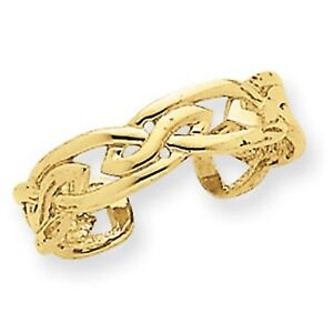 Kt Gold  G Toe Ring