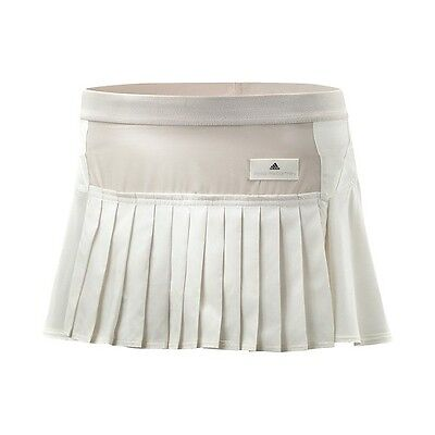 STELLA McCARTNEY Adidas TENNIS Sport SKIRT White Chalk Simple CLIMALITE L