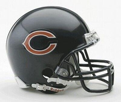 Chicago Bears Replica Mini Helmet From Riddell, Nfl Football Casco, 1:2,neu-mostra Il Titolo Originale Qualità E Quantità Assicurate