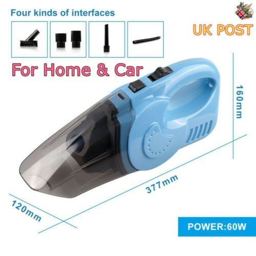 Car Handheld Wet & Dry Vacuum Cleaner Cordless Rechargeable Home Portable Small