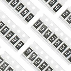 5/% 3//4W 0,75W SMD Widerstände Chip Resistors 100PCS 10K Ohm 103 2010 5025