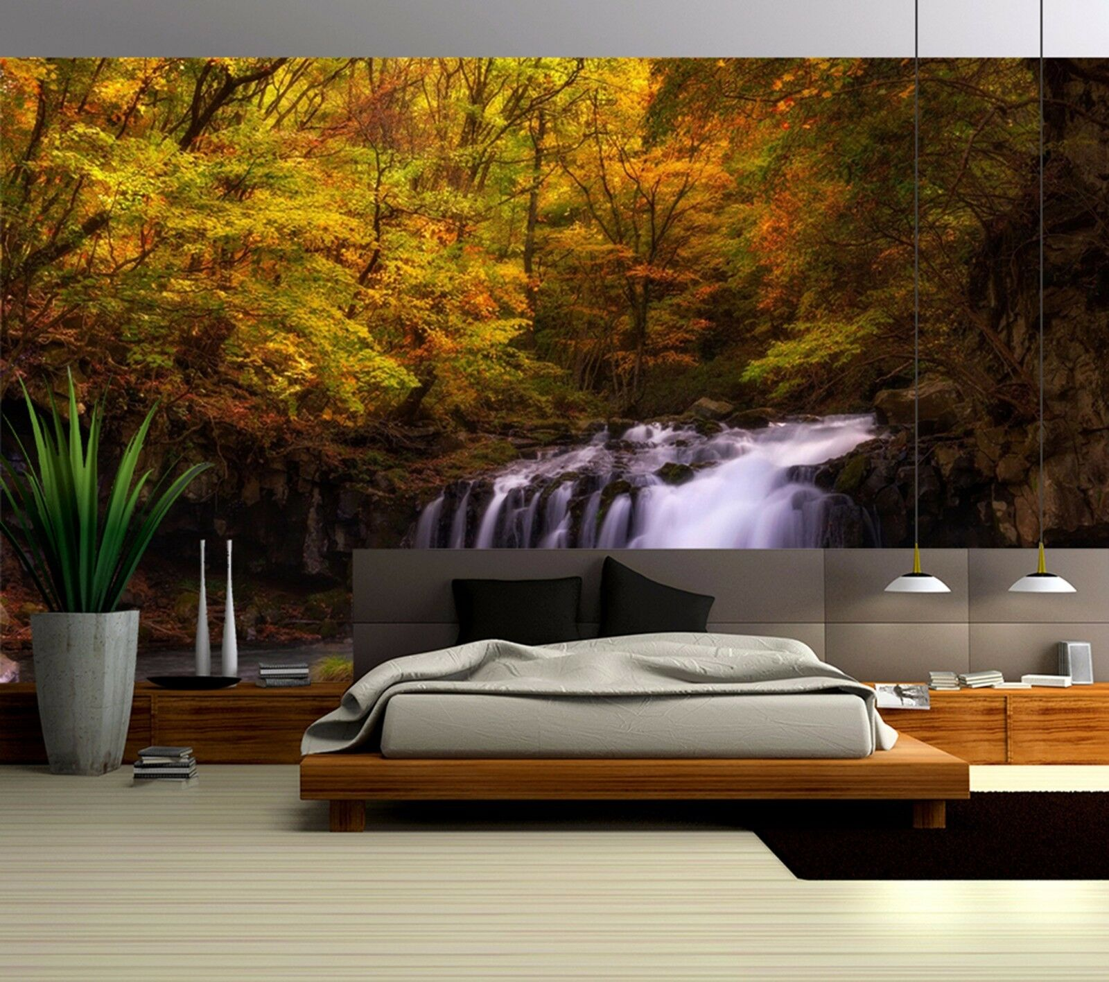 3D Autumn scenery 235 Wall Paper Wall Print Decal Wall Deco Indoor Wall Murals