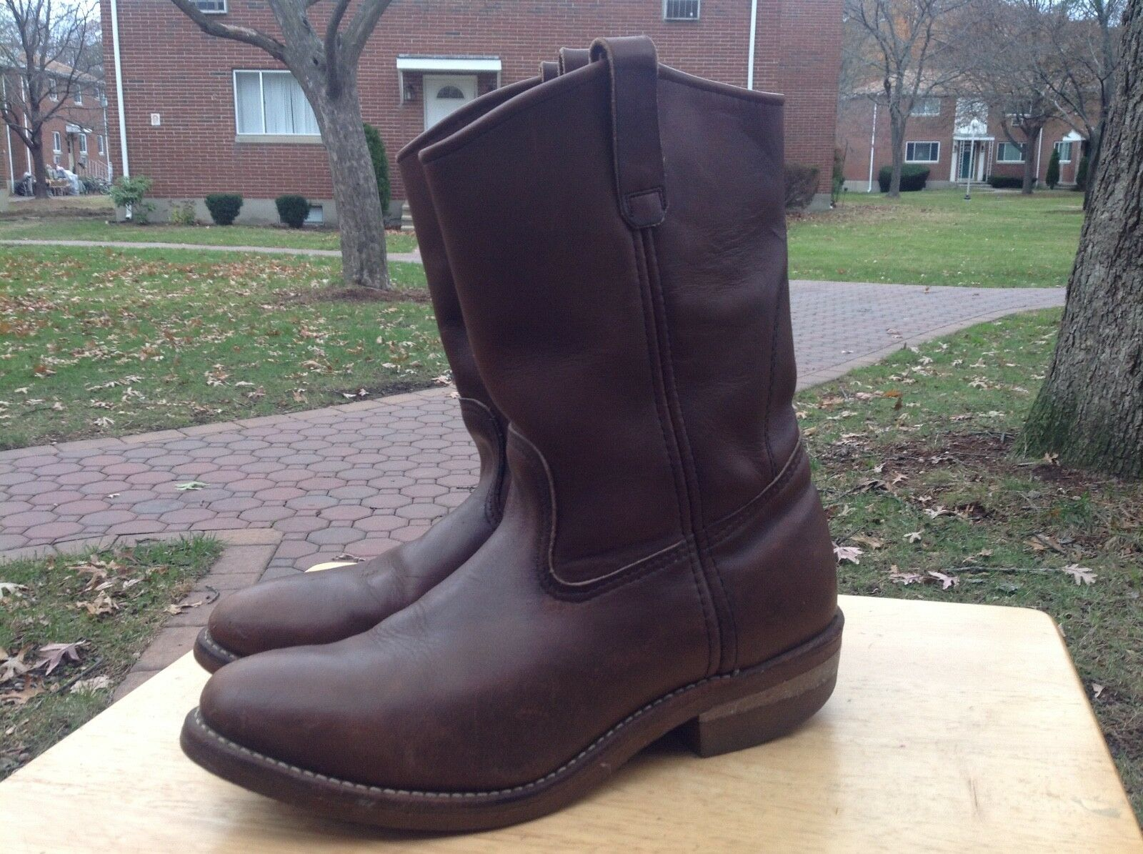 Vintage 80's Red Wing 293 Work Boots Men's Size 9.5 E