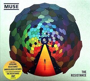 Muse-CD-DVD-The-Resistance-Digipak-Europe-M-M