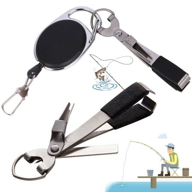 2 FLY FISHING CLIPPER /& NAIL KNOT FOUR IN ONE TOOL