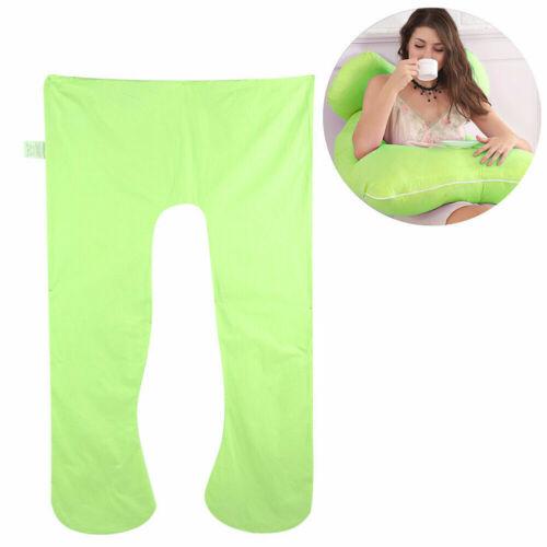 U-shaped Pregnancy Cotton Pillow Case Cover 70*130 cm Big Comfortable Removeable