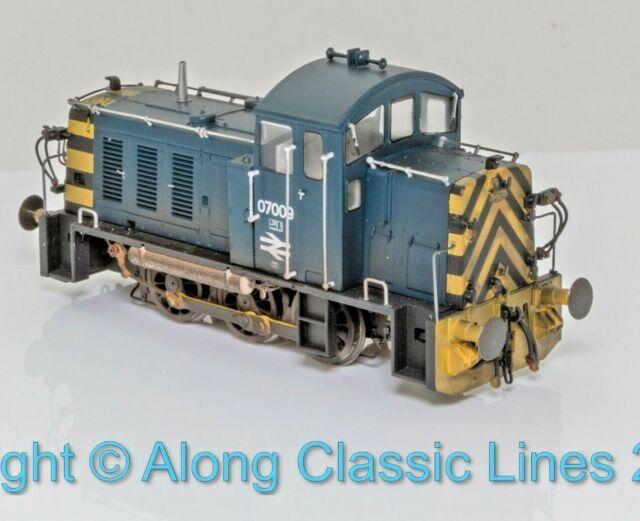 Heljan 2915, 00 Gauge, Class 07, 0-6-0 Diesel Shunter 07009 BR blue weathered