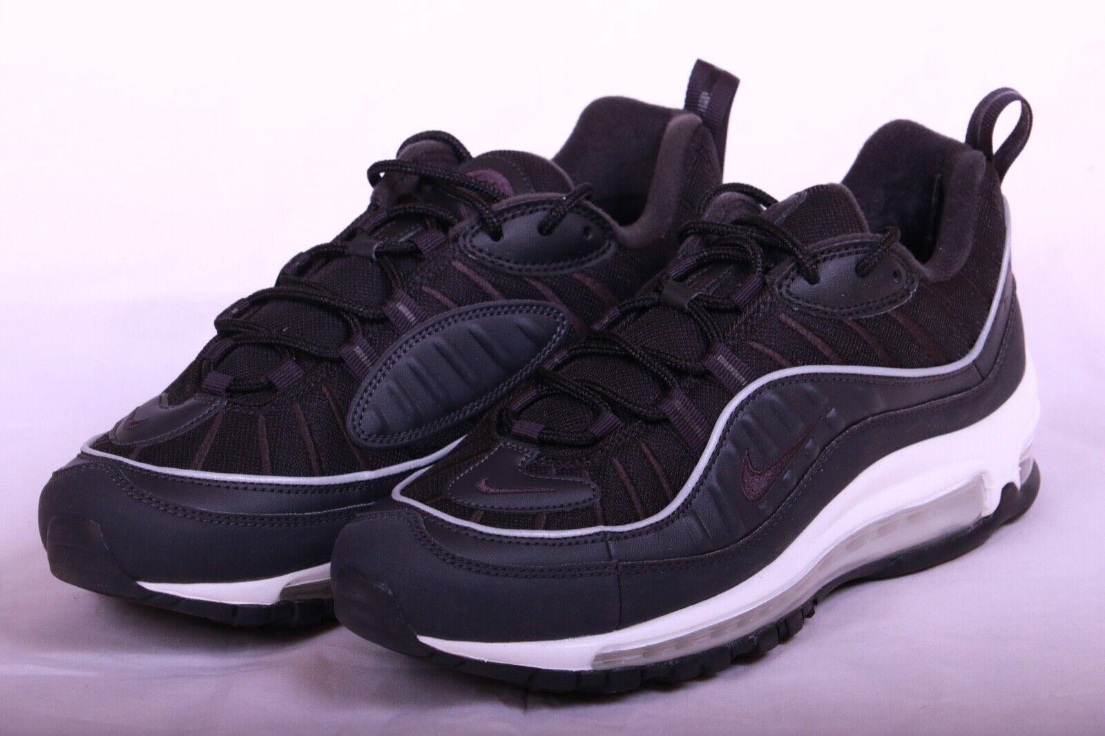 Nike Air Max 98 Men's New Oil Grey Black Casual Sneakers 640744 009 Size 8-11