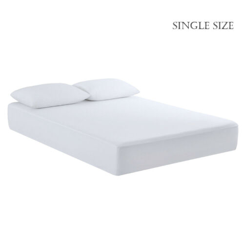 Fully Fitted 100/% Waterproof Mattress Protector Cover Anti Bug Mite Bed Sheet