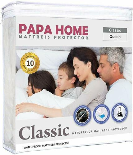 Twin Xl Mattress Cover Protector Waterproof Pad Bed Cover Sheet Hypoallergenic
