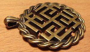 Ancient Greek-Scythian Bronze (Rodovnik-Bogovnik) Related God /Replica/Amulet #3