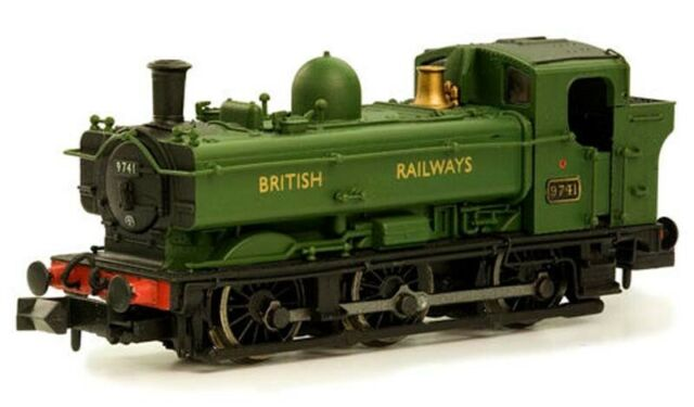Dapol Pannier 9744 British Railways N Gauge DA2S-007-013