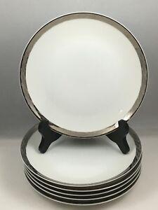 6-Fukagawa-Arita-Silver-Lichen-Hand-Painted-7-1-2-034-Salad-Plates-Japan-917