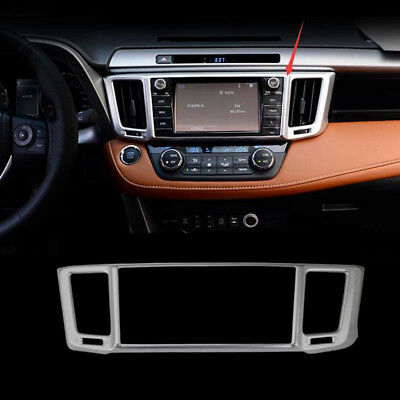 ABS Matt Interior Air Condition Vent Cover Trim 1pcs For Toyota RAV4 2016 2017