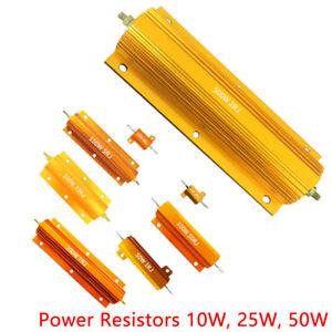 0-1-470-Ohm-5-10-25-50-Watt-Hochlast-Widerstand-Lastwiderstand-Loetfahne-DE