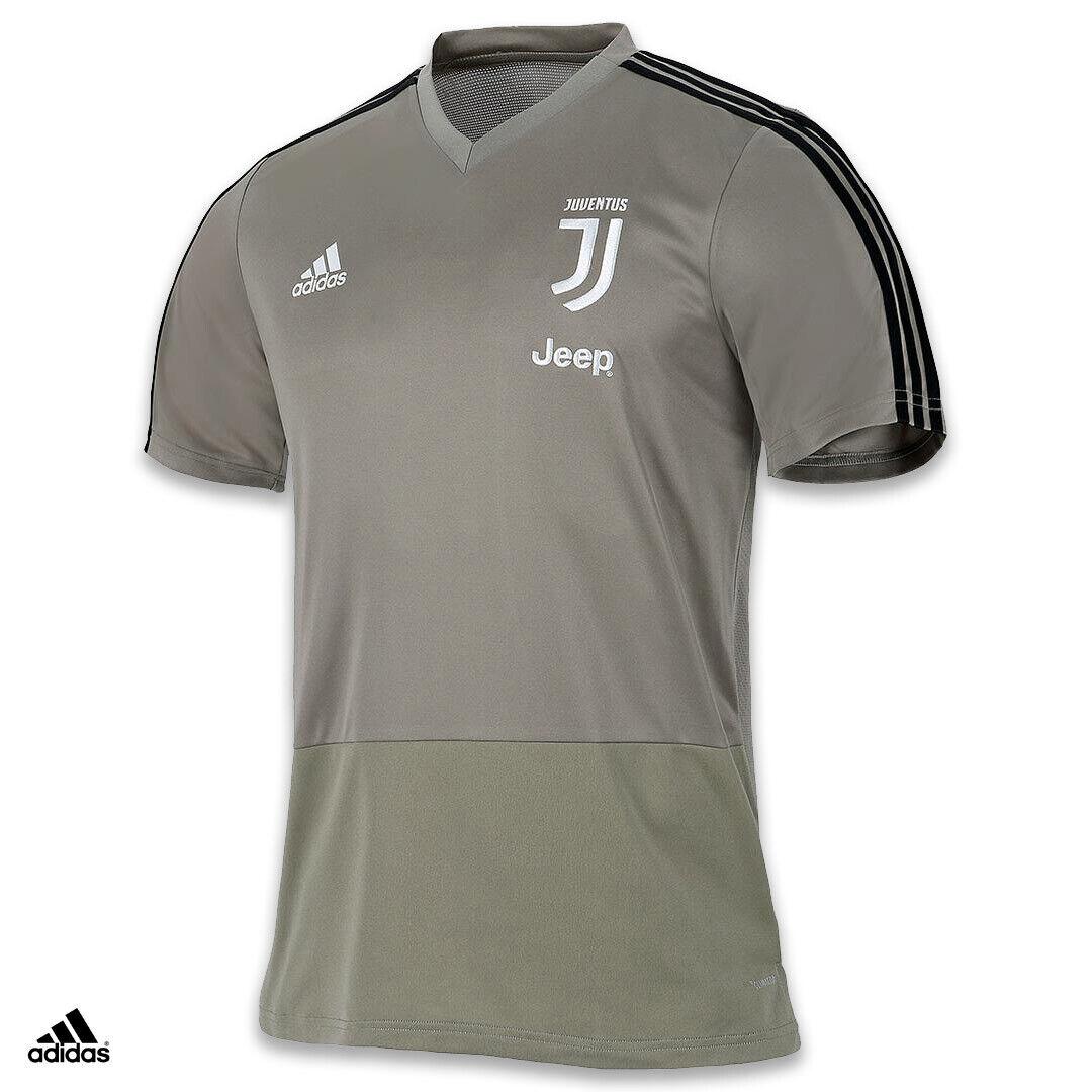 Juventus Maglia Allenamento Argilla 201819 adidas Traspirante
