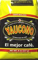 Cafe Yaucono Puerto Rican Ground Coffee 8oz