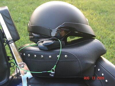 gun lock LOCK-A-LID Helmet Key Lock Cable motorcycle backpack purses bicycle