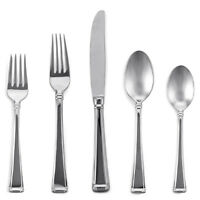 Gorham Lenox Column Ii 5 Piece Place Setting Stainless Flatware