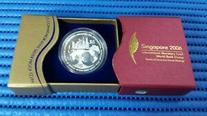 2006-Singapore-IMF-World-Bank-Group-Commemorative-5-Silver-Proof-Coin