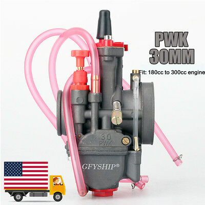 Universal Motorcycle PWK 30mm Carburetor Racing Part For Replacement Carb Honda