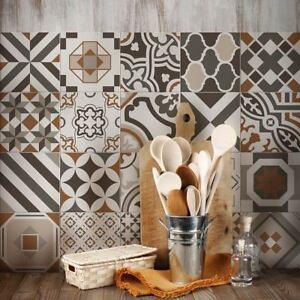 PS00149 Adesivi murali in pvc per piastrelle per bagno e cucina ...