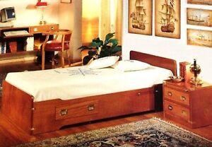 Occasione cameretta stile marina letto singolo cuccetta in mogano | eBay