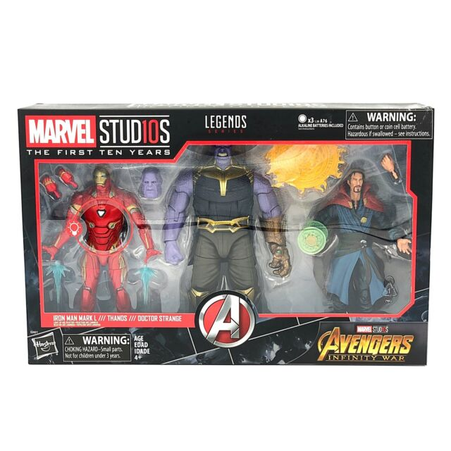 Iron Man Marvel Legends Dr Strange Studio Series ~ INFINITY WAR SET ~ Thanos