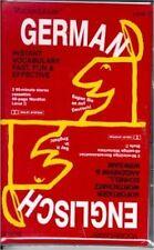 Vocabulearn German / English Audio Set 2 Cassettes + Wordlist Level 2 NEW