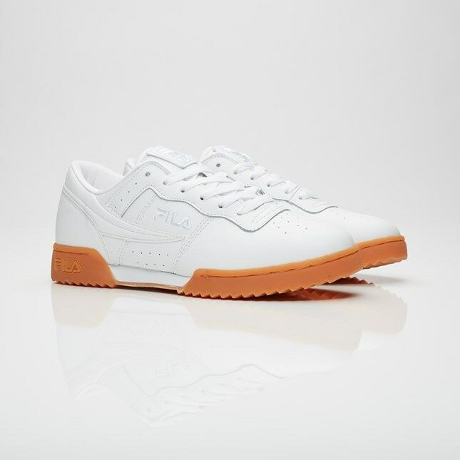 Fila Original Fitness Ripple 1FM00008-156 White Men Comfortable New shoes for men and women, limited time discount