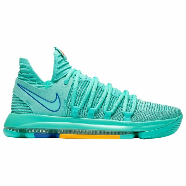 39ab85619d4 Mens Nike Zoom Kd10 Size 10 City Edition HYPER Turquoise Racer Blue ...