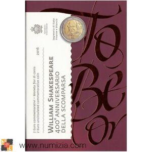 SAN-MARINO-2-Euro-2016-400-Aniversario-de-la-Muerte-de-William-Shakespeare