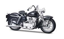 Harley Davidson 1952 K Model 1:18 schwarz Motorrad Modell die cast model