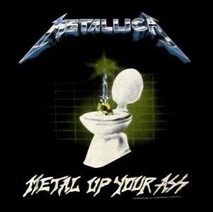 METALLICA-cd-lgo-METAL-UP-YOUR-ASS-Official-SHIRT-XL-new