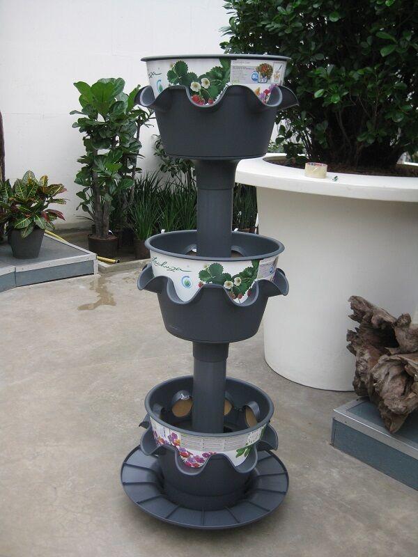 Lechuza Cascada colore 3er Set Torre, set completo riserva d'acqua ART 14984-3