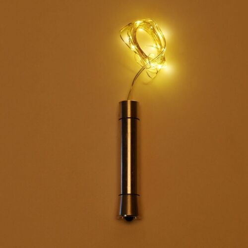 Cork Shaped 15 LED Night Light Starry Light Wine Bottle Lamp For Xmas Party Deco