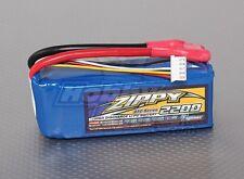 Zippy Flightmax 2200mAh 4S 14.8V 45C 55C Lipo Battery Pk 5.5mm Bullet Connector