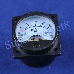 200mA-Panel-Meter-f-300B-211-845-KT88-Tube-Amplifier-SO-45